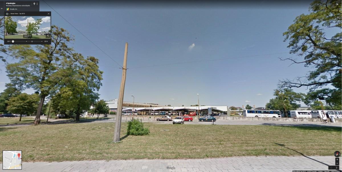źródło Google Maps widok z czerwca 2011 roku Street View