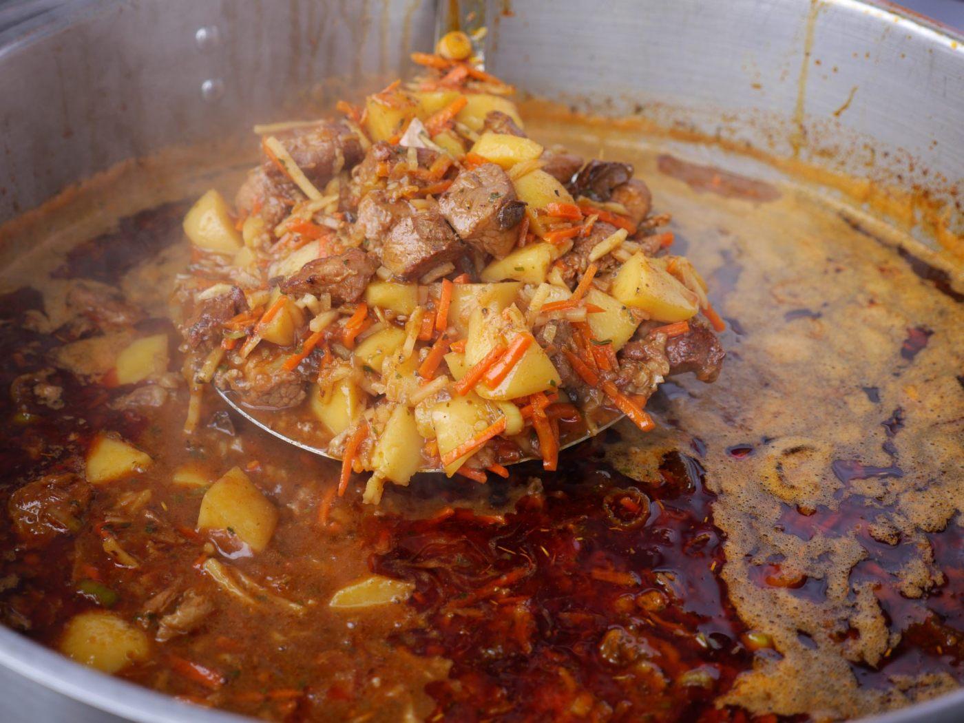 Staropolska zupa piwna na bazie piwa Koźlak  Amber Fest