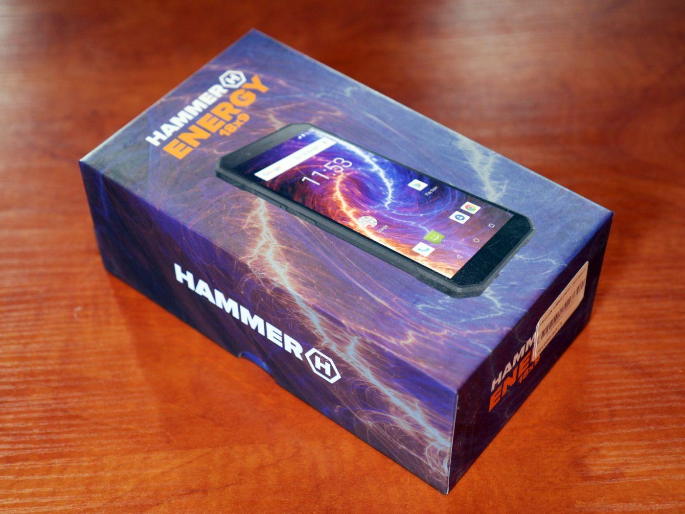Hammer Energy 18x9 pudełko