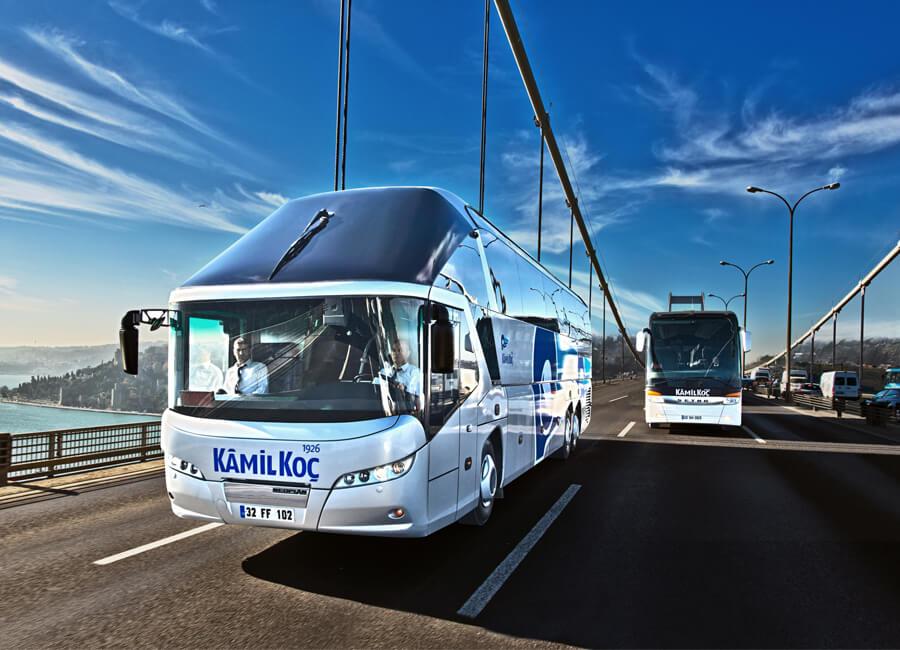 autobus Mercedes Travego  autobus Setra 417HDH  Flixbus - Kâmil Koç  flixbus w Azji