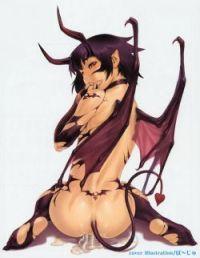 女悪魔のエロ画像 07【モンスター娘】