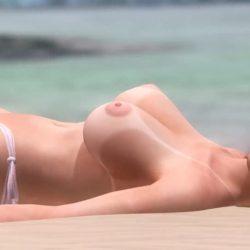 [DOA,3DCG] デッドオアアライブのヌードMODでキャラクターを全裸に剥くエロ動画 (21)