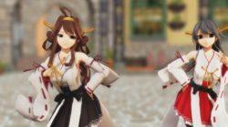 [艦これ,MMD] 金剛型四姉妹がダンスに合わせて腰ふりSEX!! (4)