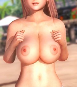 [DOA,3DCG] デッドオアアライブのヌードMODでキャラクターを全裸に剥くエロ動画 Part4 (19)
