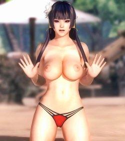 [DOA,3DCG] デッドオアアライブのヌードMODでキャラクターを全裸に剥くエロ動画 Part4 (35)