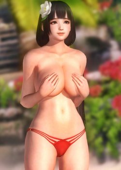 [DOA,3DCG] デッドオアアライブのヌードMODでキャラクターを全裸に剥くエロ動画 Part4 (43)