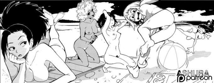 [僕のヒーローアカデミア] 蛙吹梅雨ちゃん ケロケロ可愛いエロ画像 03 (16)