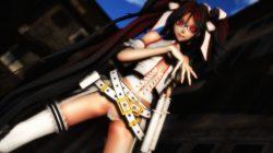 【MMD-R18,シーエ】 浮き出るアバラがエロいシーエさんが騎乗位で腰を振るGIF・画像 (14)