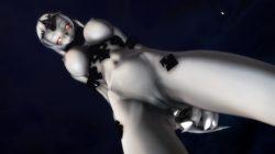 【MMD-R18,港湾棲姫】 港湾棲姫がディルドでオナニー→騎乗位でSEXするGIF・画像 (19)