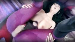 [3DCG,エロ動画] 親しい従姉妹はヴァンパイア?夜な夜な性を搾り取られる! (29)