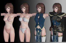 [3DCGアニメ] 女騎士を勇者オジサンがマッサージ?する超美麗な3DCGアニメーション [アトリエイズモ] (1)