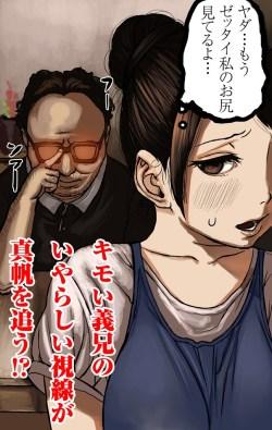 夫が出張中に幼妻が引き篭もりニートのキモ義兄に犯される! (16)
