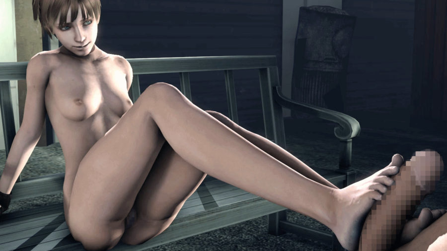 from Peter resident evil rebecca naked sperm