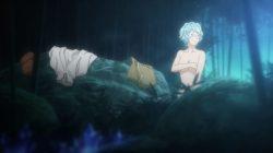 ダンジョンから戻る途中で見つけた温泉に入るが、水着が溶け出してヘスティア様があられもない姿に・・・ (24)