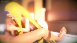 [3DCG,エロアニメ] セシリアと足コキやパイズリ、様々な体位でセックスが出来る3Dエロアニメーション (インフィニット・ストラトス) (13)