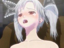 [3DCGアニメ] ゴス娘が大勢のデブ男たちに輪姦され、穴という穴をすべて犯される! (55)