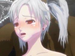 [3DCGアニメ] ゴス娘が大勢のデブ男たちに輪姦され、穴という穴をすべて犯される! (58)
