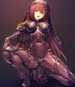 [Fate/Grand Order] スカサハ エロ画像 02 (31)