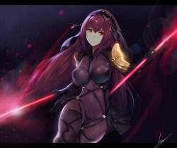[Fate/Grand Order] スカサハ エロ画像 02 (7)
