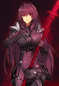 [Fate/Grand Order] スカサハ エロ画像 01 (7)