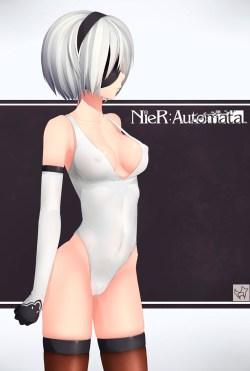ニーア オートマタ エロ画像 (1)