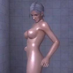 [DOA,エロ動画] クリスティのシャワーシーンを盗撮したよw  [MOD,3DCG]