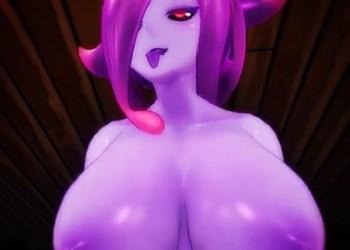 【Monster Girl Island】ドSのスライム娘に気を失うまで搾り取られるw【3DCGアニメ,エロゲ】