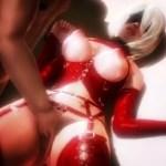 [3DCG,エロアニメ] ヨルハ二号B型が風俗店でキモおやじのお相手をすることに… (NieR:Automata)