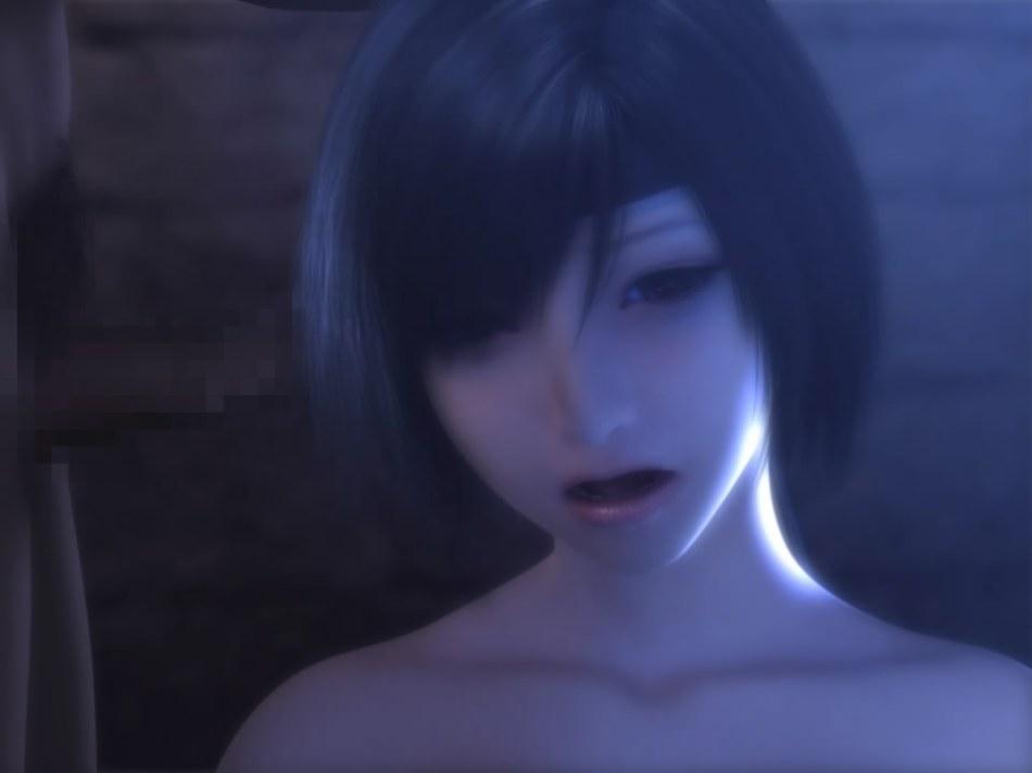 [FF7,エロ動画] ユフィが盗賊団や触手モンスターに襲われる3DCGアニメ (21)
