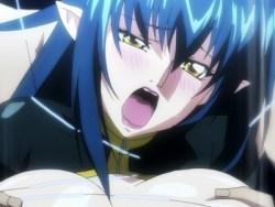 [エロアニメ] 敵の罠にハマり拘束レイプ!媚薬を盛られ、男達の手で何度もイかされる!!