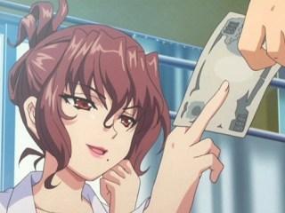【エロアニメ】学園の美人保険医が保健室で売春!?しばらく洗っていないチンカスチンポを濃厚お掃除フェラ!