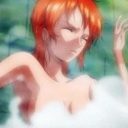 [ワンピース] ナミさんが逃げ場のない風呂場で透明人間に好き放題されちゃうエロアニメ!(News-edge)