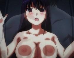 [エロアニメ] 榊由美子がロッカーで全身を擦りつけ、密着オナニー! (グリザイアの楽園)