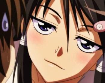 [エロアニメ] 人気生徒会長のオナニーを目撃してしまった僕は口封じの為にフェラチオしてもらうことに・・・。
