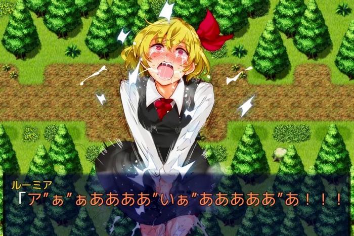 [3Dエロアニメ] 早苗が神奈子様のふたなりチンポで百合セックス!アナルまで犯されてたっぷり中出しされる! [東方]