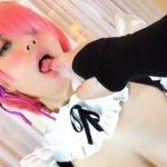 [Re:ゼロ] 貧乳美少女がラムのエロコスでフェラチオ・ハメ撮り!