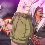 ドラゴン娘に童貞皮かむりチ〇ポを手コキ&アナルを犯されて大量射精! (犯され勇者)