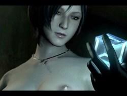 [バイオハザード] エイダがヌードMODで美乳おっぱいを晒されるゲームプレイ動画