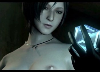 【バイオハザード】エイダがヌードMODで美乳おっぱいを晒されるゲームプレイ動画