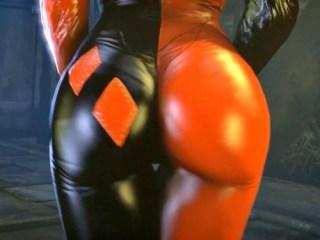 「なんだこのケツは!?」バットマンの女キャラのお尻が性的過ぎて抜けるwww(Batman: Arkham Asylum)
