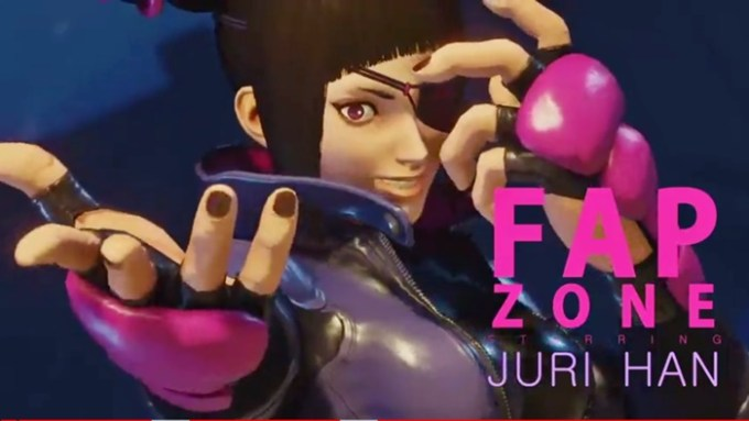 FapZone // Juri Han (Street Fighter V)