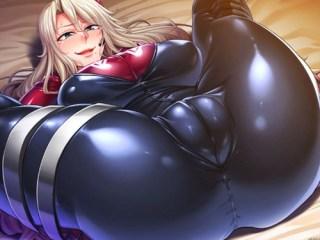 『監獄アカデミア』ムチムチ女将校が初めて生チ〇ポをぶち込まれ、種付けプレスでだらしなく喘ぐ!