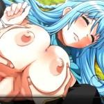 [エロアニメ] 怪我して身動きが取れない女僧侶に歪んだ欲望をぶちまけるッ!!
