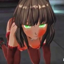 [3Dアニメ] 褐色巨乳奴隷に四つん這いで強制奉仕させて号泣させる!
