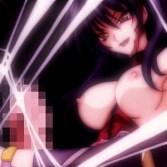 【超昂閃忍ハルカ】女忍者がかつての仲間のふたなりチ〇ポに犯され、中出しされ、汚されつくす!