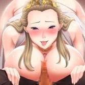 ドスケベ王妃と前王の目に前で寝取りお仕置きセックス!『巨乳プリンセス催眠』