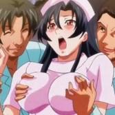 【ナース・輪姦】清純なナースは同僚の罠でノーパンで看護をすることに!それを見て暴走した患者たちに襲われ輪姦レイプされてしまう......。