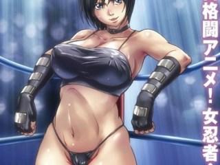 【くノ一・公開凌辱】美しきの女忍者が、地下格闘技大会に出場!リングの上で大勢の観客に見られながら凌辱されていく…。