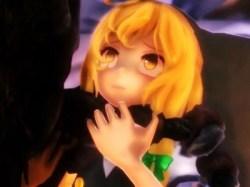 【東方MMD】魔理沙が化け物に襲われて失神リョナレイプ!最後は中出しされてレイプ目に!!