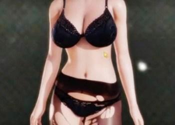 黒パンストの女警官を正常位で突きまくってぶっかけする3DCGアニメ!